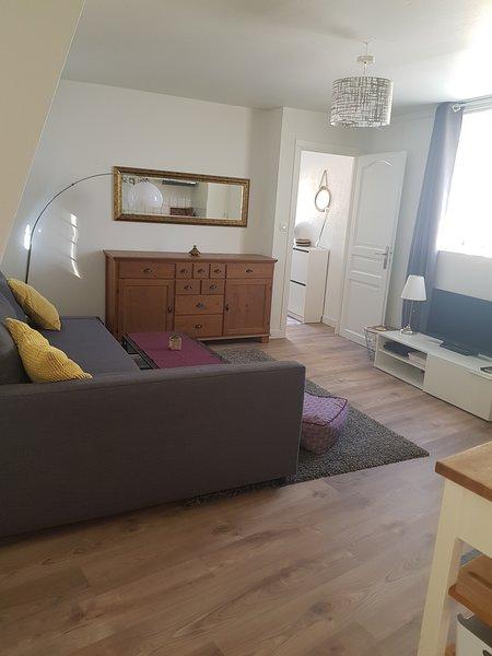 Joli appartement fonctionnel 70m² à 10 min/centre Capacité jusqu'à 8 voyageurs, Ferienwohnung in Kehl