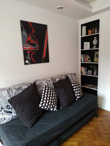 Excelente apartamento , en Ubicacion inmejorable !! cerca de todo., holiday rental in Buenos Aires