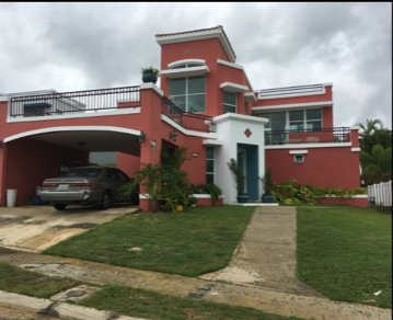 Beautiful house at the Hill with private pool and view, alquiler vacacional en Ceiba