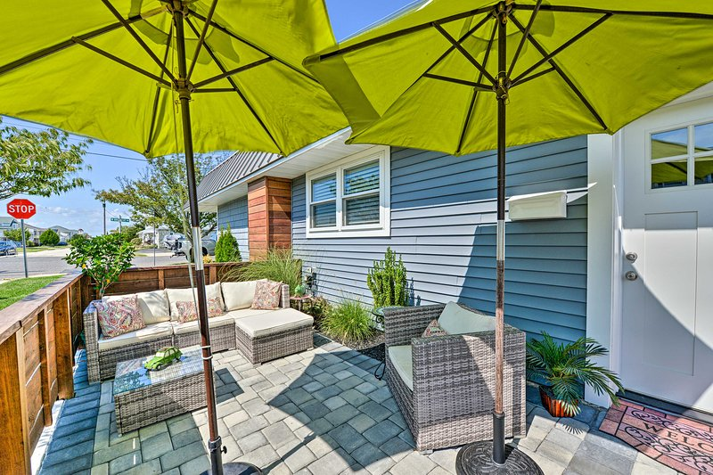 Come stay at this newly remodeled 1-bed, 1-bath condo in Brigantine Beach!
