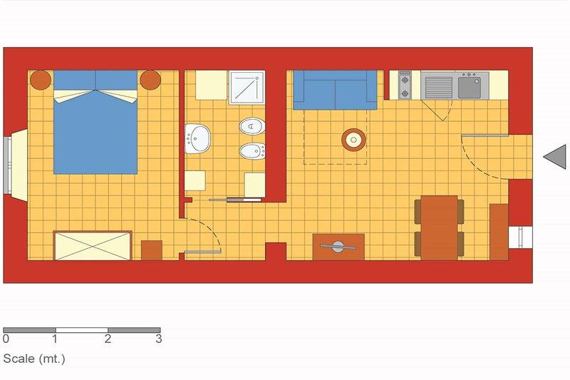 Testaccio - Floor plan