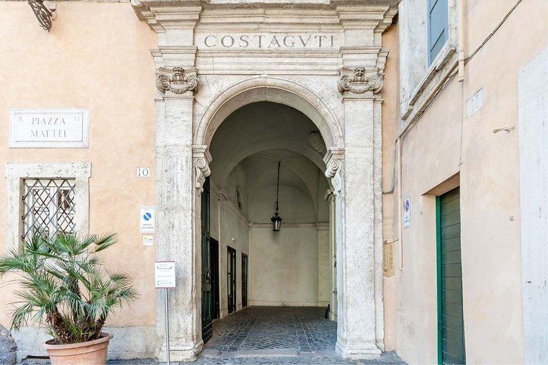 Costaguti experience - entrance