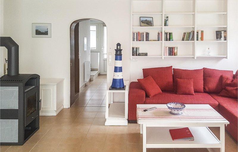 Stunning home in Nordstrand with 2 Bedrooms (DSH296), alquiler de vacaciones en Pellworm