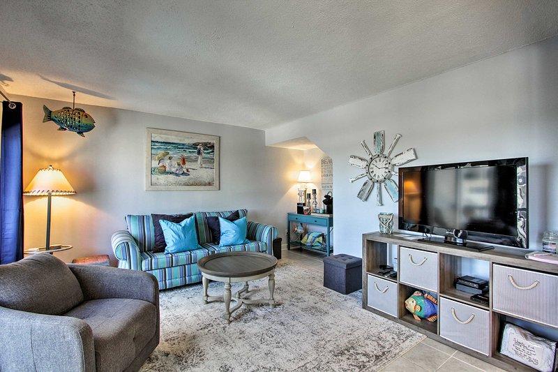 Rilassati negli spazi abitativi confortevoli di questa casa vacanza!