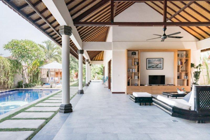 Villa Lotus : Luxury 3 BR Villa in central Lembongan, holiday rental in Nusa Lembongan