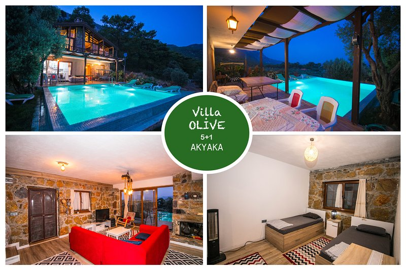Villa Olive Akyaka Daily Weekly Rentals, holiday rental in Kadikale
