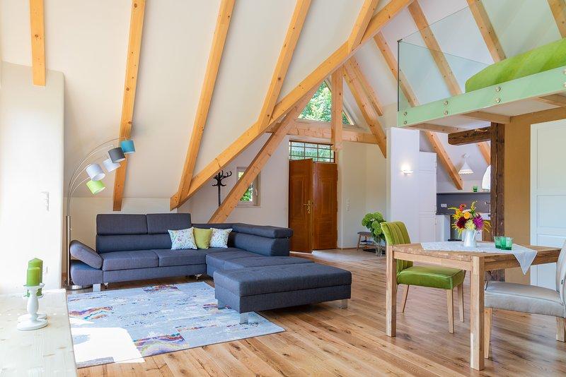 Apartmentwohnung Teichwiesn Naturwiese, location de vacances à Hirschegg Rein