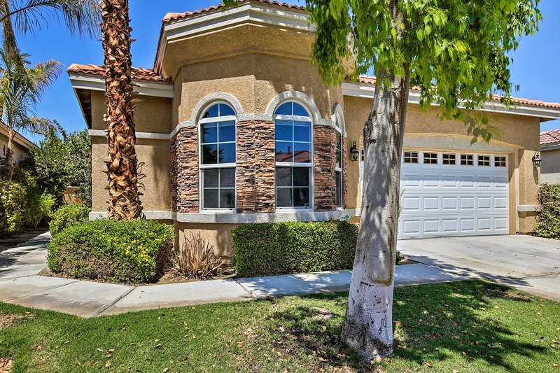 Bring along a group of 6 to stay at this Indio vacation rental.