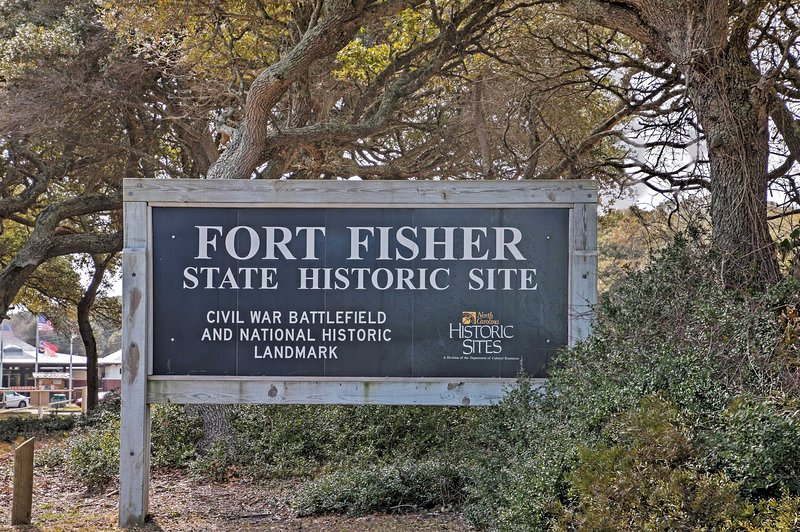 Spend the day at Fort Fisher, just down the road.
