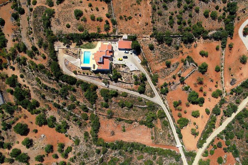 Villa sem prédio em frente em qualquer lugar