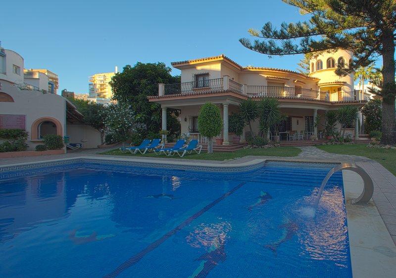 Swimming pool and community villa
