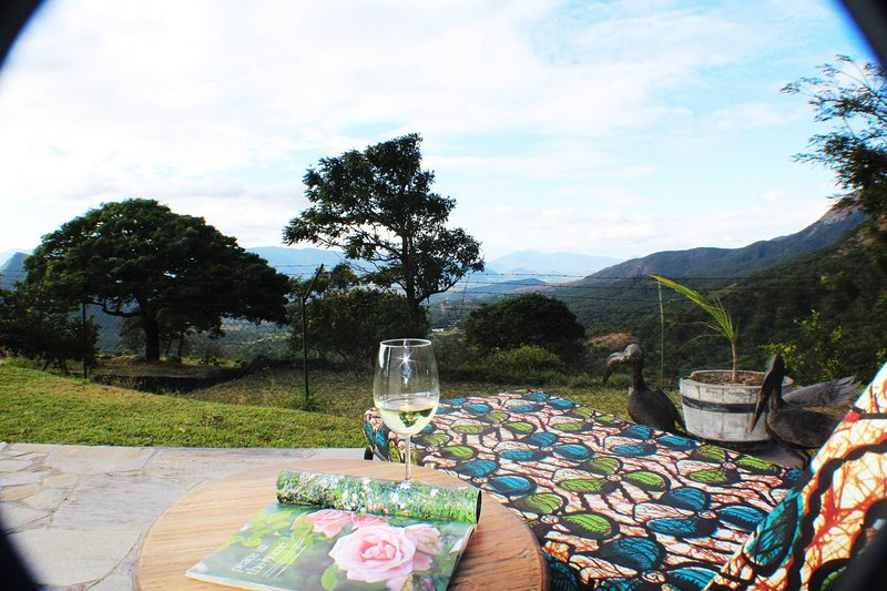Relax and unwind with a view of the Mozambican valleys below