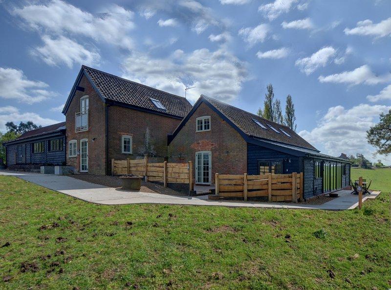 Lodge Farm, location de vacances à East Bergholt