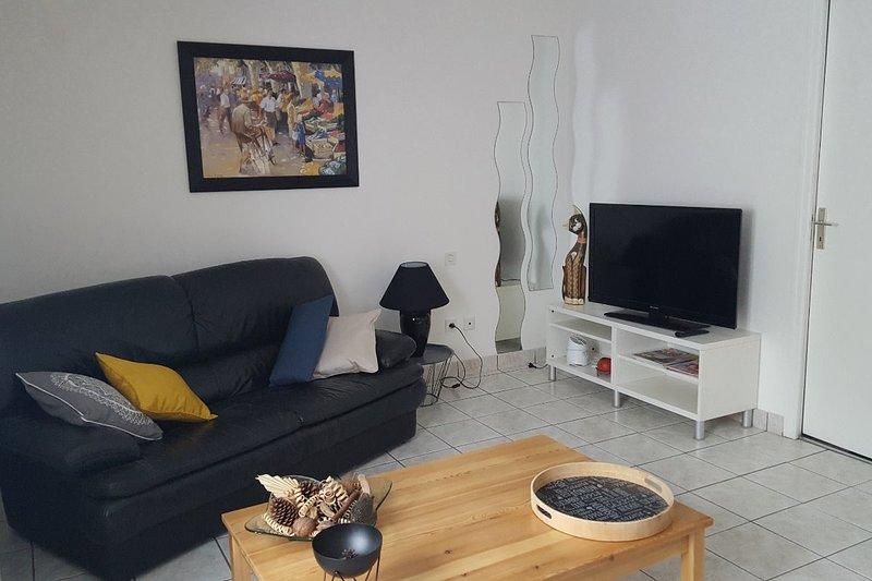 Beautiful apartment near the beach, holiday rental in Sainte-Marie-Plage