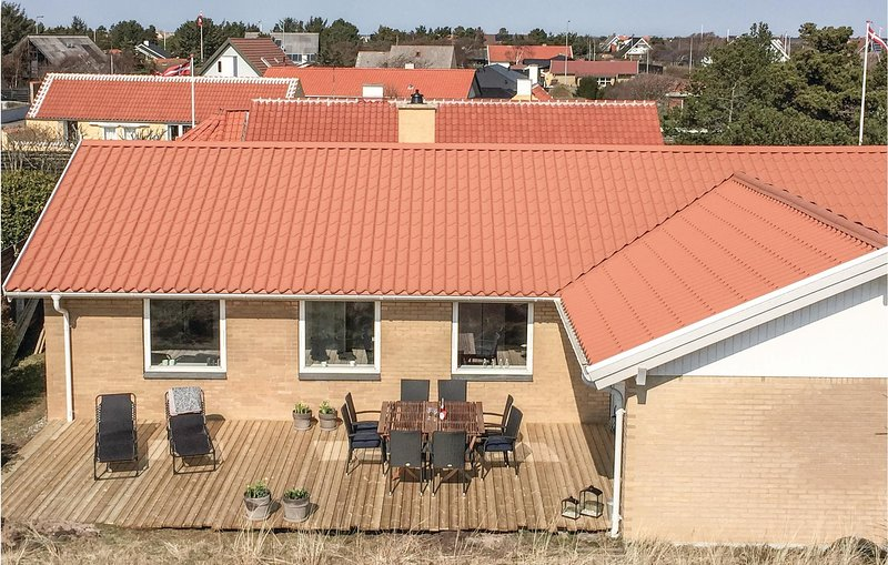 Nice home in Skagen w/ WiFi and 3 Bedrooms, holiday rental in Hulsig