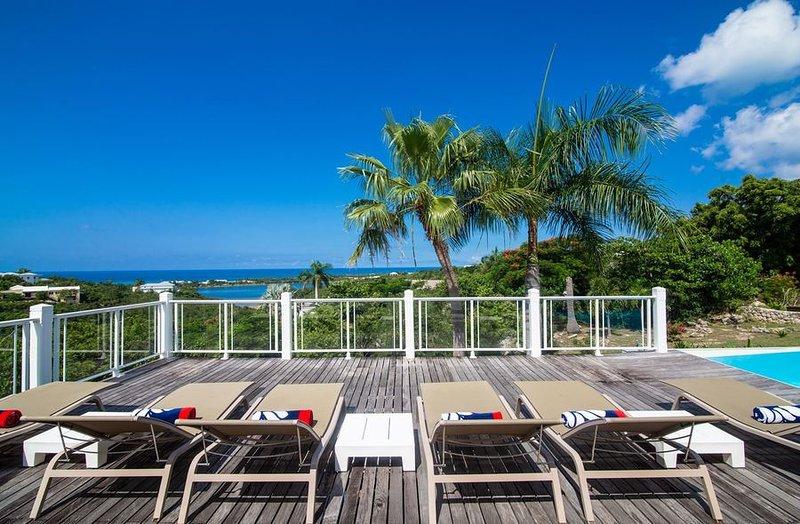 Callisto, 3BR vacation rental villa in Terres Basses, St Martin