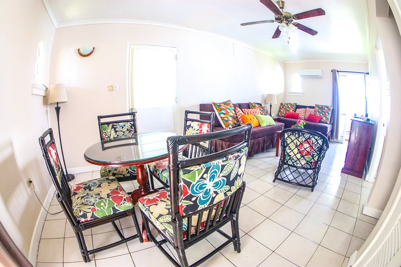 Colorful times At Point Village Resort, holiday rental in Little London