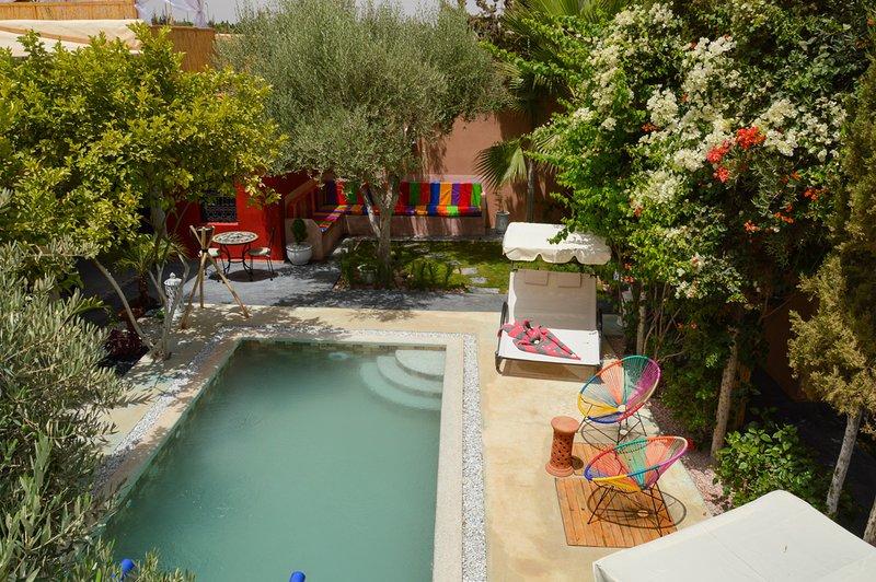 Belle Villa située à 12 mn de la médina de Marrakech, holiday rental in Lagouassem