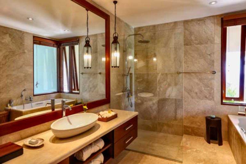 Villa Gumamela: 3 BR Luxury Villa with seaviews, vakantiewoning in Manggis