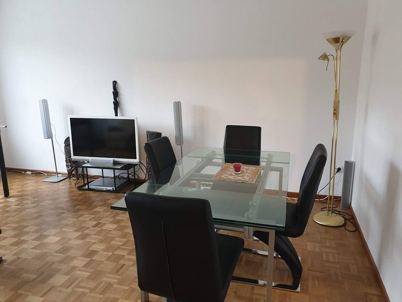 Sunny 2-room only 5 minutes walk Hbf Winterthur near by Zurich, holiday rental in Lottstetten