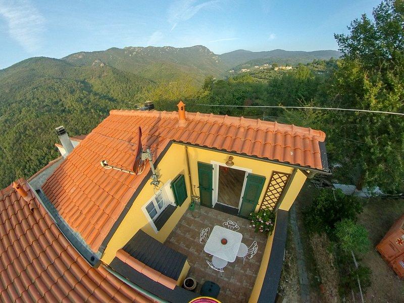 Finale Ligure (Rialto) paradiso 4 climber e biker. Pace e natura., holiday rental in Rialto