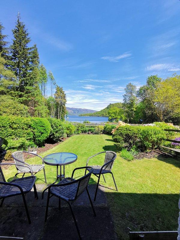 Loch Lomond at front door