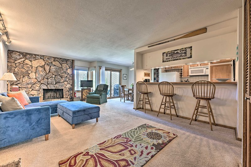 This Elkhorn Village vacation rental offers all the comforts of home.