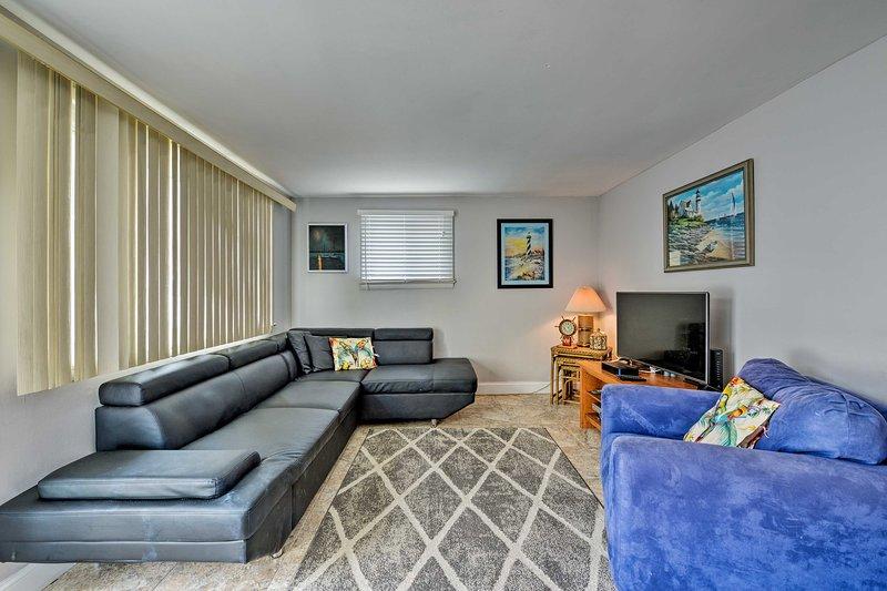 Book your Jersey Shore vacation to this 2-bedroom, 1-bath vacation rental condo!