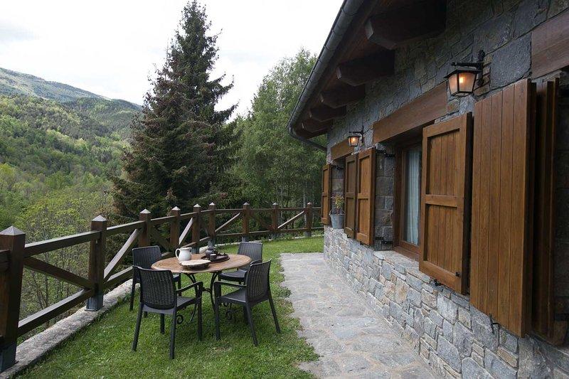 Els Pins d'Abella- Les Pedres, location de vacances à Beget