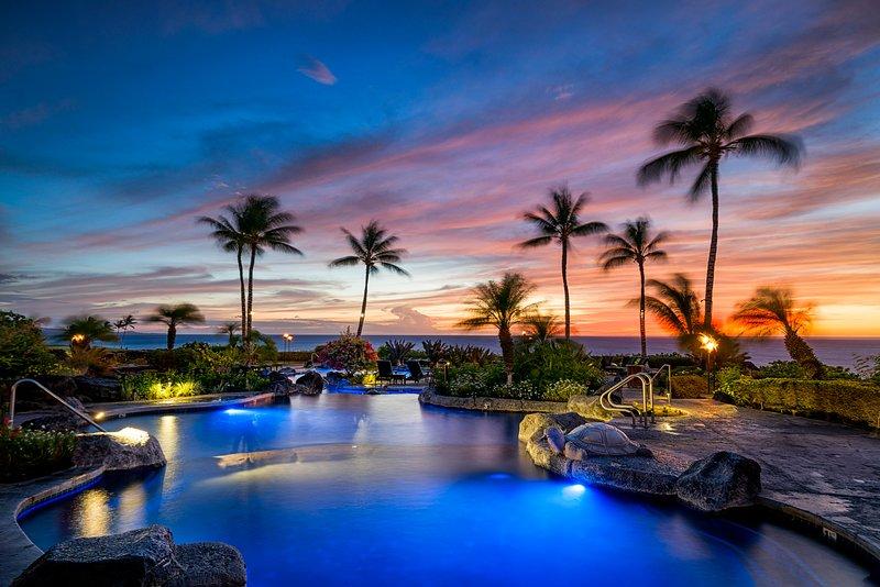 Hali'i Kai'Wish-We-Were-Here'! Oceanfront & Golf resort. Beach Gears & More, location de vacances à Kohala Coast