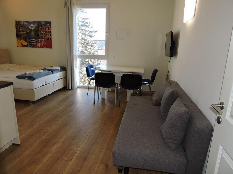 Messe Apartment 211 Amsterdam, vakantiewoning in Pritschitz