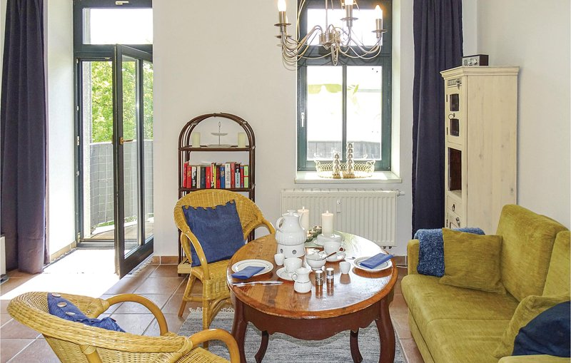 Amazing apartment in Schwerin with WiFi and 1 Bedrooms (DMV432), holiday rental in Schwerin
