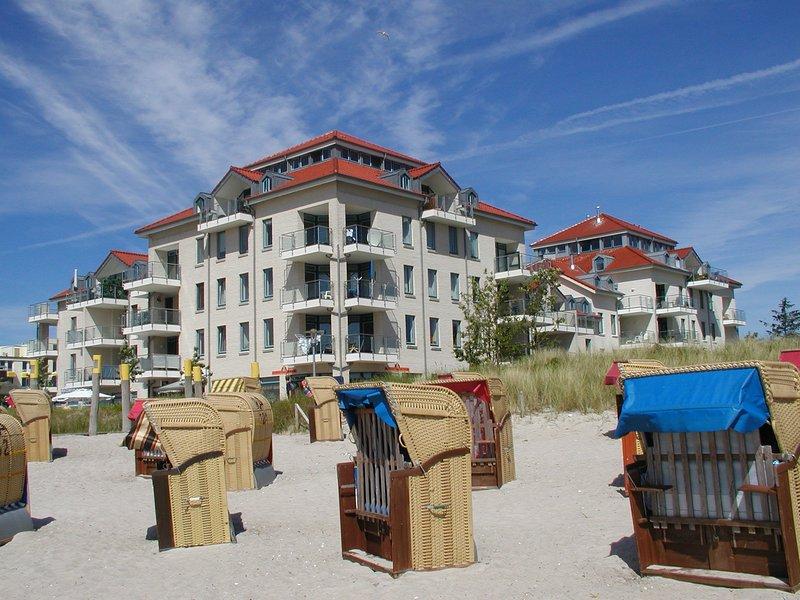 Exklusive Turmsuite direkt am Strand, location de vacances à Fehmarn