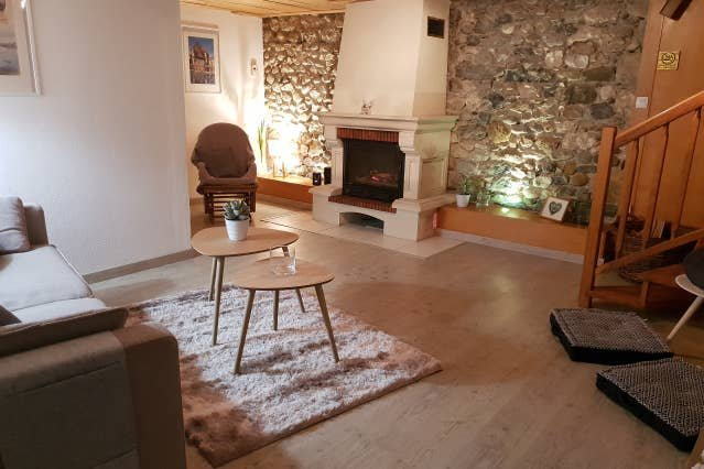 Beautiful apt with garden & Wifi, holiday rental in Vallieres