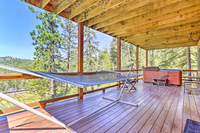 With 2 covered decks, this home is 5-star no matter the season.
