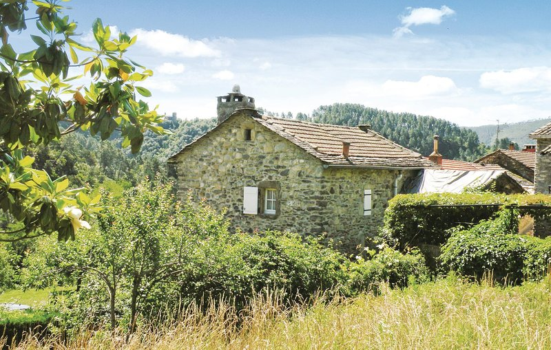 Beautiful home in PEYREMALE with 3 Bedrooms (FLG068), alquiler vacacional en Aujac
