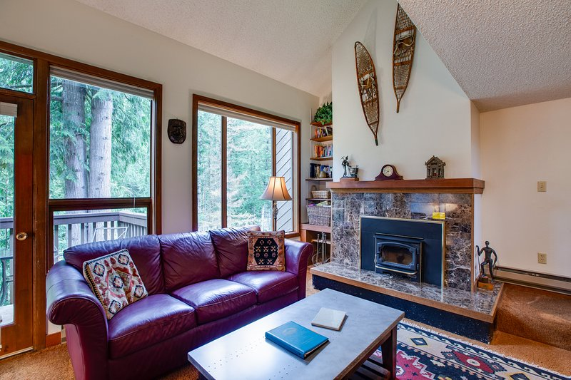 Snowater Family Condo #80 - FIREPLACE, WASHER/DRYER, DISHWASHER, DVD, SLEEPS-4!, vacation rental in Glacier