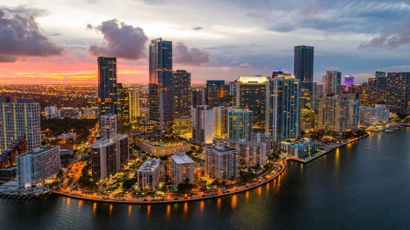 Brickell is a neighborhood with spiraling skyscrapers, world-class shopping and fine dining.