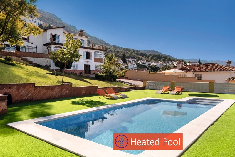 Private and heated pool all year round