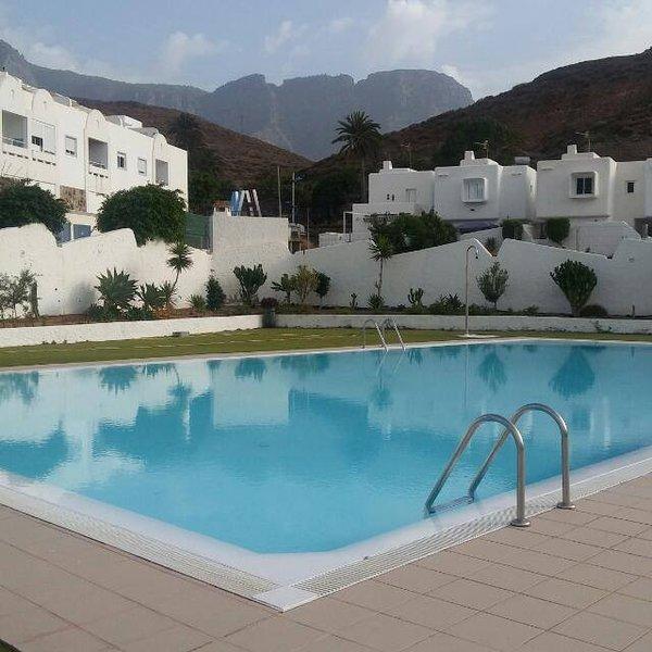 Apartamento Vistamar Agaete piscina y wifi, holiday rental in Agaete
