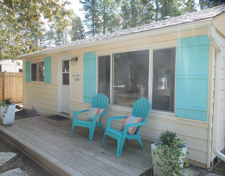 Renovated 3 bedroom 2 minute walk to the lake and beach! Close to Sauble River – semesterbostad i Owen Sound