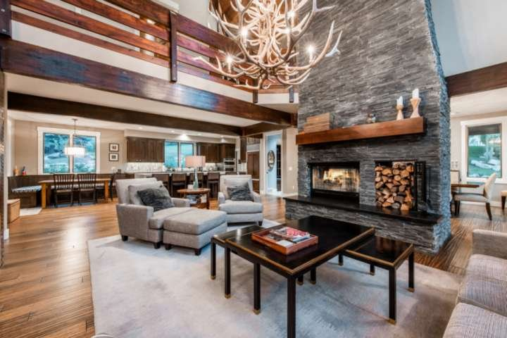 Every Luxurious Detail Professionally Selected! Custom Furnishings, Double Sided Fireplace, Formal Dining, Formal Living,Perfect For Entertaining - Op