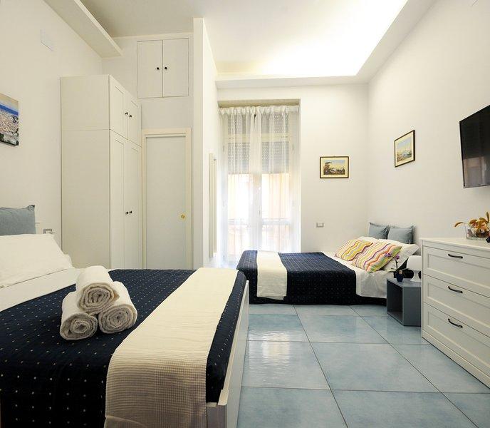 La Casa Sassolini - Appartamento Turchese, location de vacances à Naples