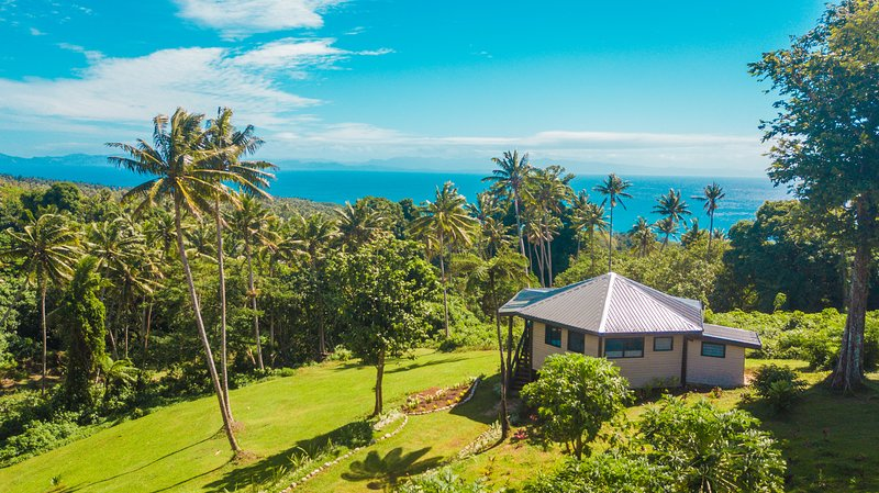 Private and secluded vacation rental with oceanview, holiday rental in Taveuni Island