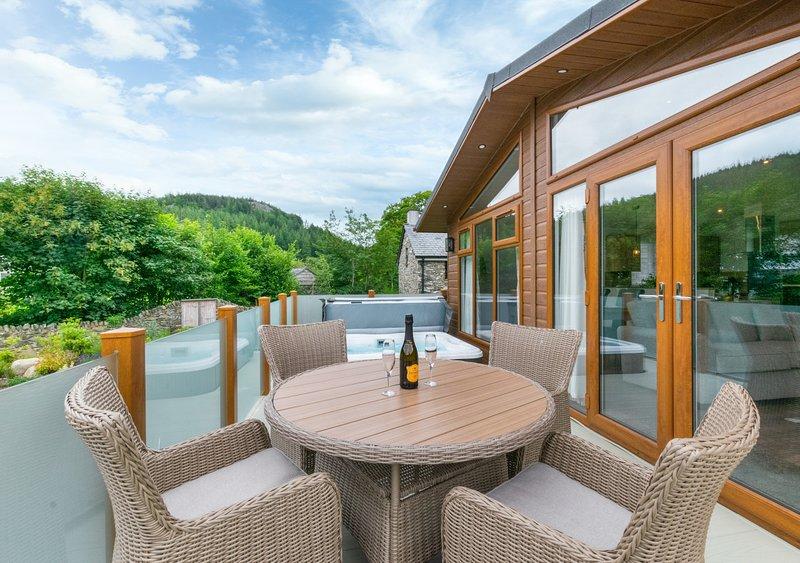 Llyn Padarn Lodge, holiday rental in Capel Curig