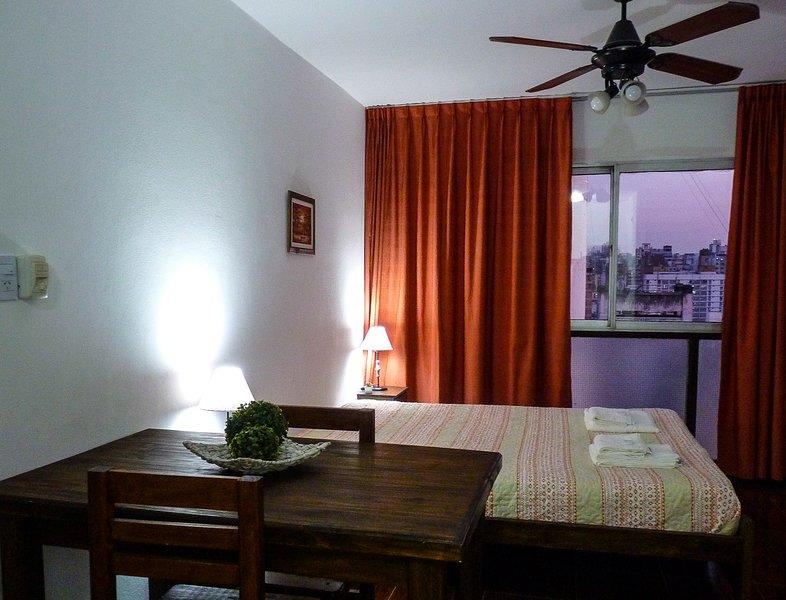 Luminoso departamento en calle Rivadavia piso 12, vacation rental in Cordoba