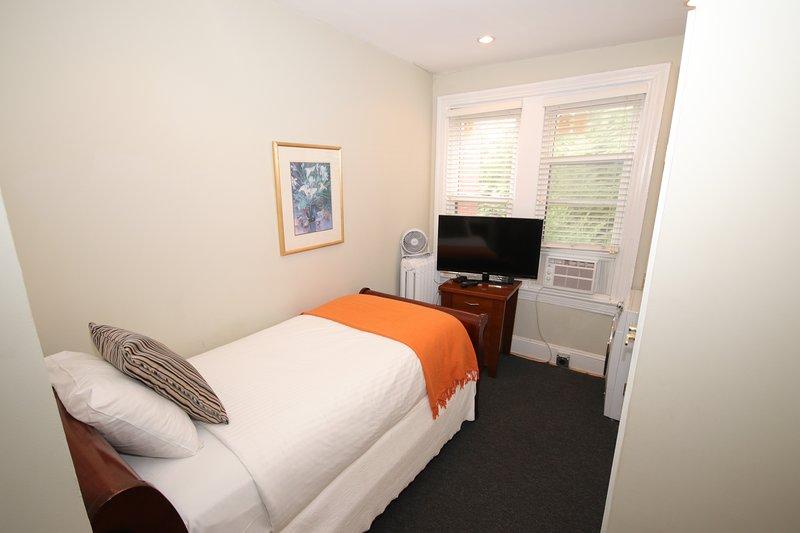 Una de las dos habitaciones.