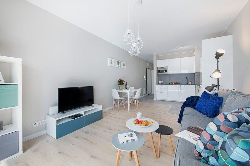 Apartment CYBERNETYKI 10, casa vacanza a Piastow