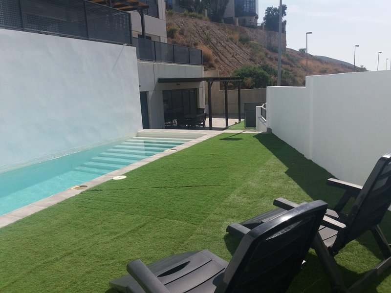 Nice chalet with swimming-pool, holiday rental in Alhama de Almeria