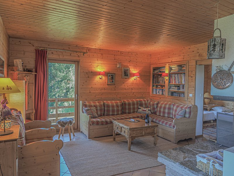 Chardon Bleu - Spacious 12-14p ski chalet with stunning views, holiday rental in Peisey-Vallandry
